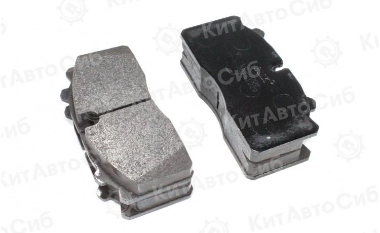 Колодки тормозные передние BAW БАВ Fenix Феникс 33460 3346 (1044 1065) комплект 4 шт. ЕВРО 3-4